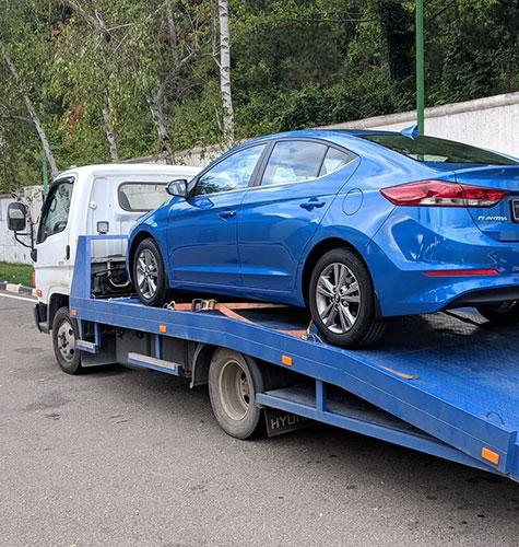 Транспортировка легковых авто в Екатеринбурге