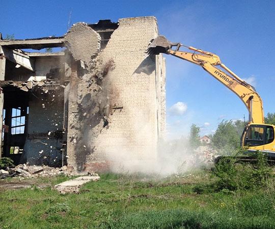 Демонтаж зданий в Екатеринбурге и Свердловской области