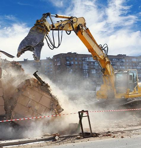 Услуги демонтажа в Екатеринбурге